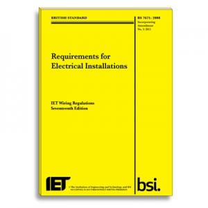 IET Wiring Regulations 3rd Amendment