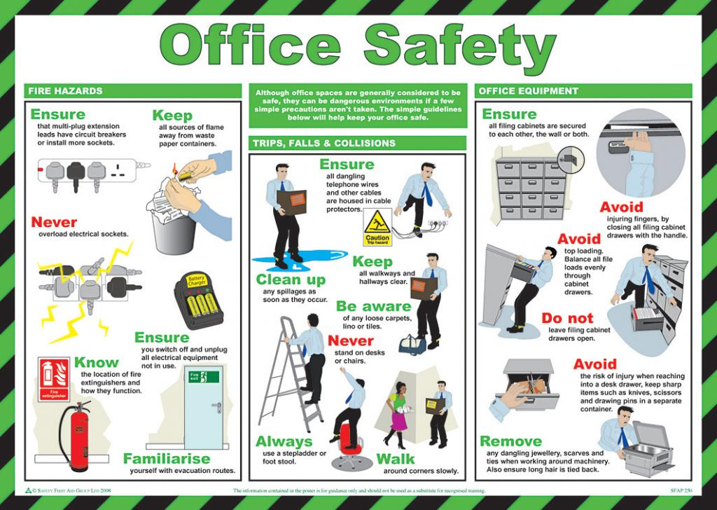 Office Safety Posters Free Download | Gallery