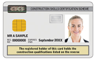 Academically Qualified CSCS Card