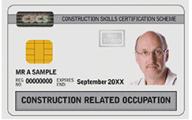 CRO CSCS Card