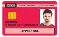 CSCS Apprentice Card