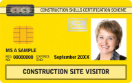 Site Visitor CSCS Card