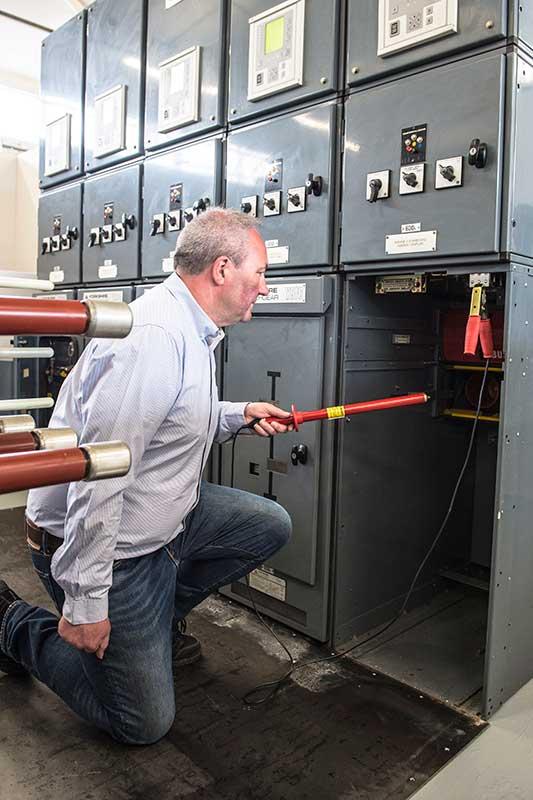 Senior Authorised Person Safe Switching Operation Of